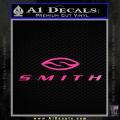 Smith Optics Decal Sticker Neon Pink Vinyl 120x120