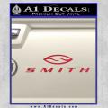 Smith Optics Decal Sticker Red Vinyl 120x120