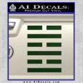 Snake Eyes Clan Logo D1 Decal Sticker Dark Green Vinyl 120x120