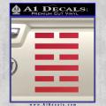Snake Eyes Clan Logo D1 Decal Sticker Red Vinyl 120x120