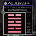 Snake Eyes Clan Logo D1 Decal Sticker Soft Pink Emblem 120x120
