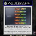 Snake Eyes Clan Logo D1 Decal Sticker Spectrum Vinyl 120x120