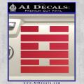 Snake Eyes Clan Logo D2 Decal Sticker Red Vinyl 120x120