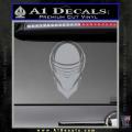 Snake Eyes GI Joe Helmet Decal Sticker Grey Vinyl 120x120