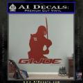 Snake Eyes GI Joe Sword Decal Sticker DRD Vinyl 120x120
