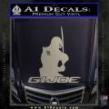 Snake Eyes GI Joe Sword Decal Sticker Metallic Silver Vinyl 120x120