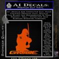 Snake Eyes GI Joe Sword Decal Sticker Orange Emblem 120x120