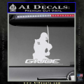 Snake Eyes GI Joe Sword Decal Sticker White Vinyl 120x120