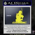 Snake Eyes GI Joe Sword Decal Sticker Yellow Vinyl 120x120