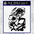Street Fighter Ryu Fireball Decal Sticker Black Vinyl 120x120