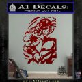 Street Fighter Ryu Fireball Decal Sticker DRD Vinyl 120x120