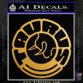 Taurus Firearms CR2 Decal Sticker Gold Metallic Vinyl 120x120