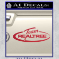 Team Realtree Decal Sticker Red Vinyl 120x120