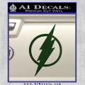 The Flash Decal Sticker DH Dark Green Vinyl 120x120