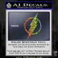 The Flash Decal Sticker DH Spectrum Vinyl 120x120