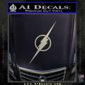 The Flash Decal Sticker Wide Metallic Silver Vinyl 120x120