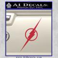 The Flash Decal Sticker Wide Red Vinyl 120x120