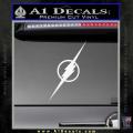The Flash Decal Sticker Wide White Vinyl 120x120