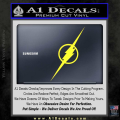 The Flash Decal Sticker Wide Yellow Vinyl 120x120