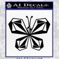 Volcom Butterfly Decal Sticker Black Vinyl 120x120