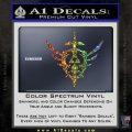 Zelda Skyward Sword Decal Sticker Glitter Sparkle 120x120