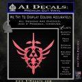 Zelda Skyward Sword Decal Sticker Pink Emblem 120x120