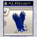 American Eagle Decal Sticker Blue Vinyl 120x120