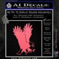 American Eagle Decal Sticker Pink Emblem 120x120