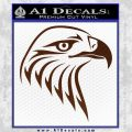 American Eagle Decal Sticker Sharp BROWN Vinyl 120x120