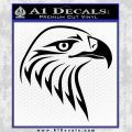 American Eagle Decal Sticker Sharp Black Vinyl 120x120
