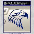 American Eagle Decal Sticker Sharp Blue Vinyl 120x120