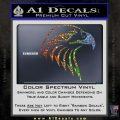 American Eagle Decal Sticker Sharp Glitter Sparkle 120x120