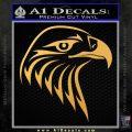 American Eagle Decal Sticker Sharp Gold Vinyl 120x120
