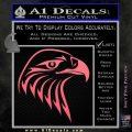 American Eagle Decal Sticker Sharp Pink Emblem 120x120