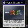 Android Root Super User Decal Sticker 2 Pack Glitter Sparkle 120x120