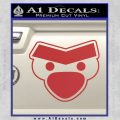 Angry Birds Close D1 Decal Sticker Red 120x120