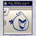 Angry Birds Decal Sticker Blue Vinyl 120x120