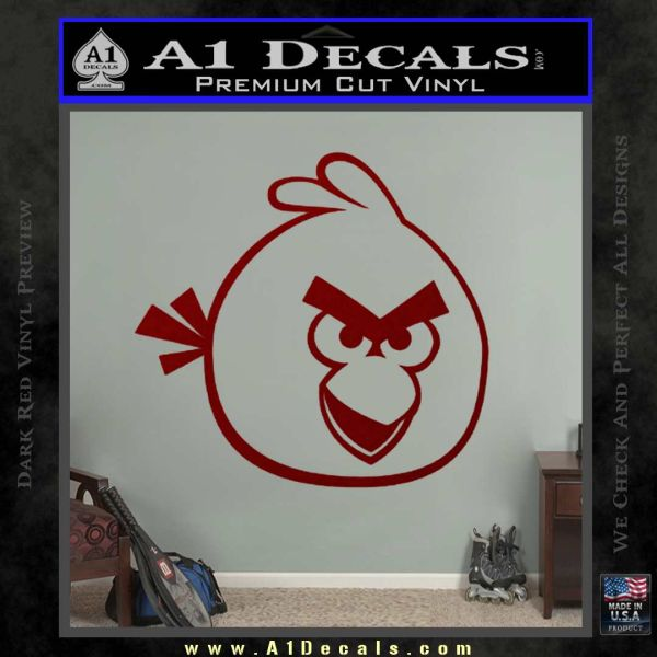 Angry Birds Decal Sticker DRD Vinyl