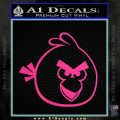 Angry Birds Decal Sticker Pink Hot Vinyl 120x120