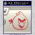 Angry Birds Decal Sticker Red 120x120