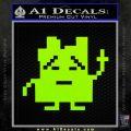 Aqua Teen Hunger Force Decal Sticker Alien Lime Green Vinyl 120x120