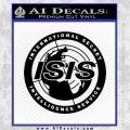Archer ISIS Spy Logo Decal Sticker Black Vinyl 120x120