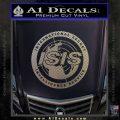 Archer ISIS Spy Logo Decal Sticker Carbon FIber Chrome Vinyl 120x120