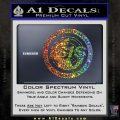 Archer ISIS Spy Logo Decal Sticker Glitter Sparkle 120x120