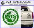 Archer ISIS Spy Logo Decal Sticker Green Vinyl Logo 120x97