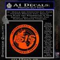 Archer ISIS Spy Logo Decal Sticker Orange Emblem 120x120
