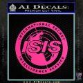 Archer ISIS Spy Logo Decal Sticker Pink Hot Vinyl 120x120