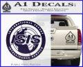 Archer ISIS Spy Logo Decal Sticker PurpleEmblem Logo 120x97