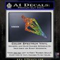 Archery Broadhead Decal Sticker Glitter Sparkle 120x120