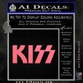 KISS Decal Sticker Pink Emblem 120x120